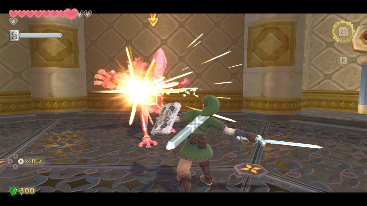 右のJoy-Conは剣に対応