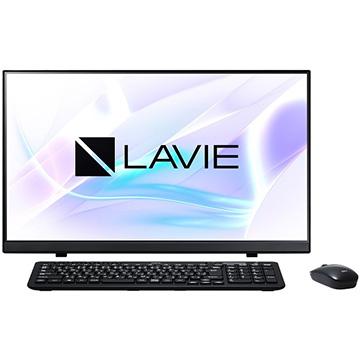 「NEC LAVIE Smart HA 23.8インチ Celeron 4GB HDD500GB OfficeH&B ファインブラック(ひかりTVショッピング限定モデル) PC-SD19CDCAH-2」