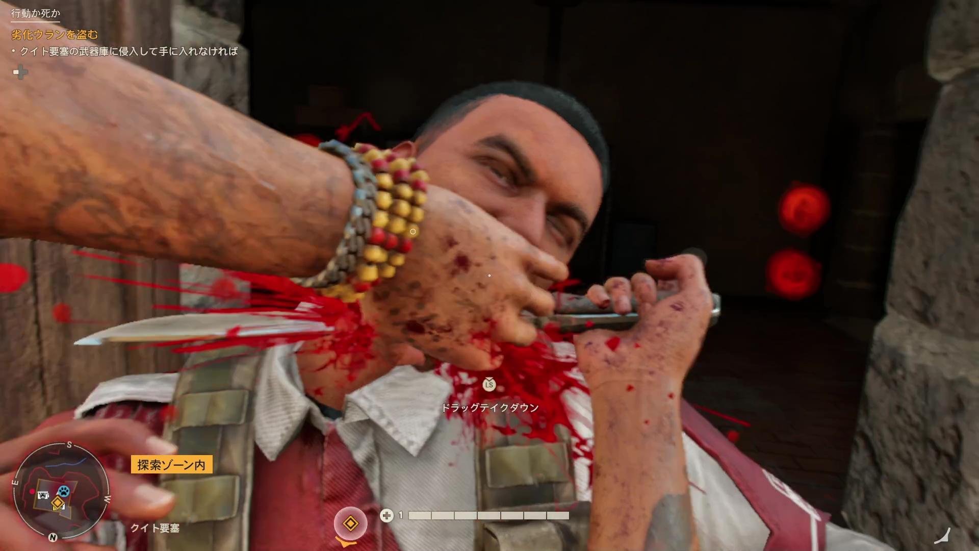 ダニーは敵を暗殺をするときマチェーテ(蛮刀)を使う