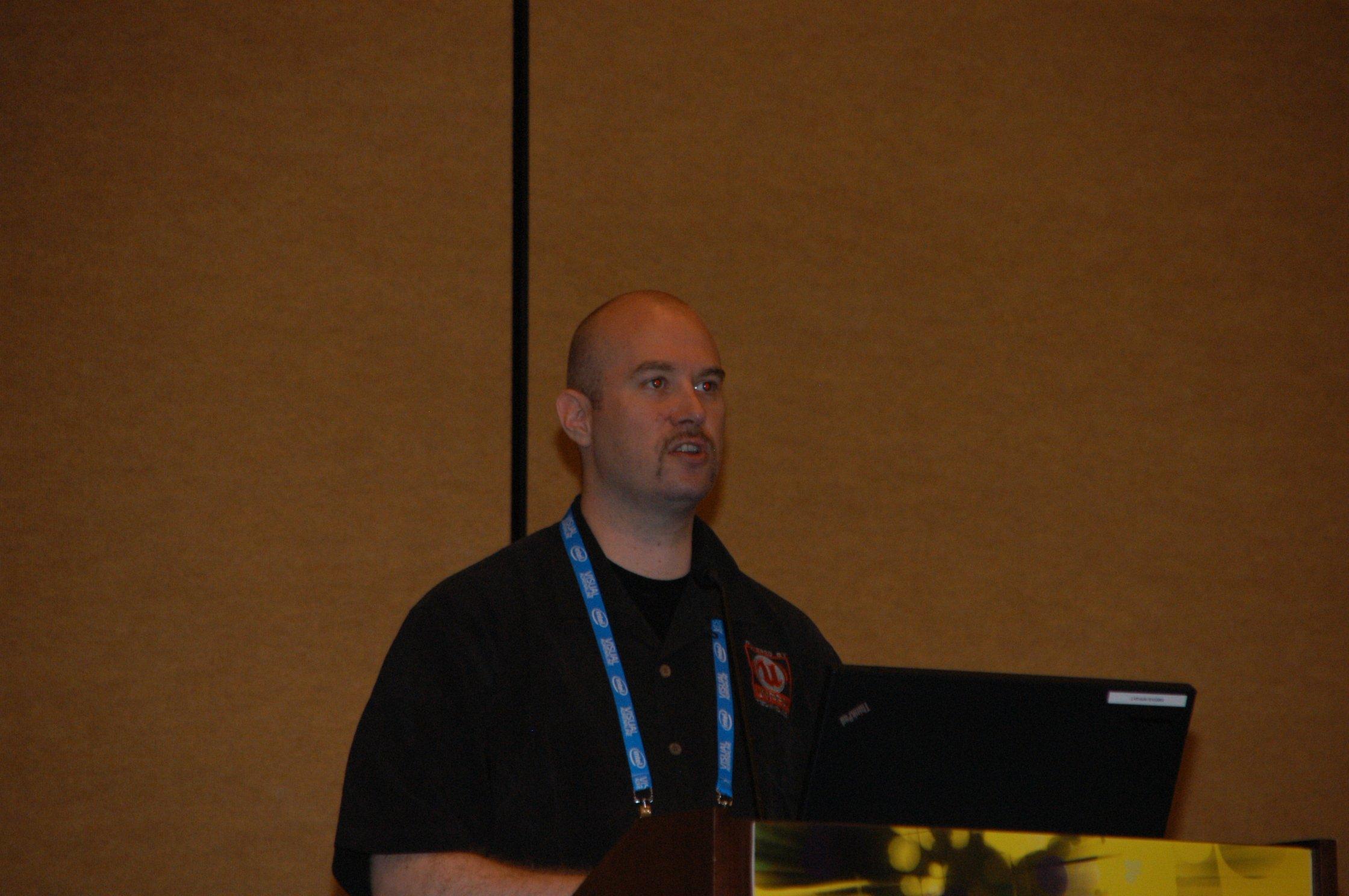 「Gears of War 2」の残虐表現の裏側について語ったNiklas Smedberg氏(Senior Engine Programmer,Epic Games, Inc.)