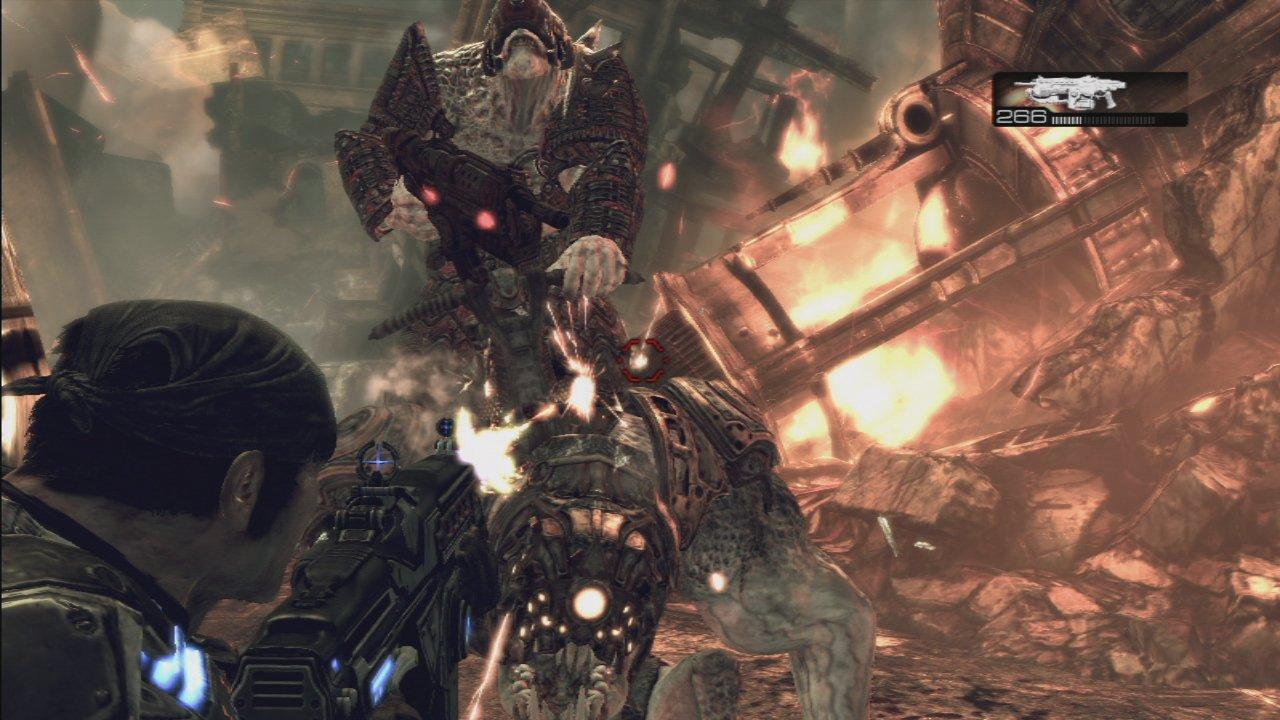 Xbox 360の今年のキラータイトルとなりそうな「Gears of War 2」