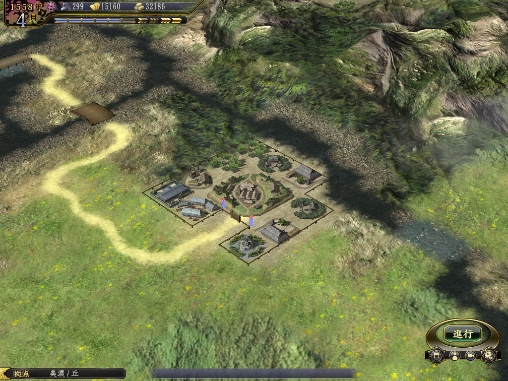 技術研究に必要な「匠ノ町」。部隊の質を高めるためには欠かせない