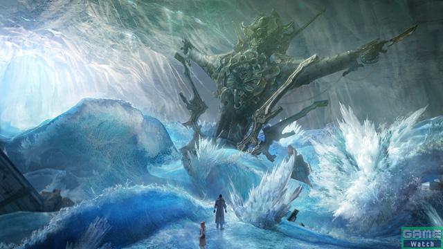 見知らぬ物体が落ちてきた衝撃で起こった波が、そのまま固まってしまった湖。この結晶化した様な荒野に佇む一同は、しばし何が起きたのか分からずにいた。この状況でどの様な会話がなされ、何を「約束する」というのか。そして、敵兵に囲まれ窮地に追い込まれてしまった