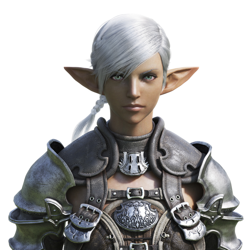 「FF XI」のエルヴァーンに似た種族エレゼン(Elezen)