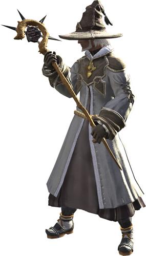 <b>「ソーサラー」</b><br>魔器を操る魔法の研究者<br>(呪術士、幻術士など)