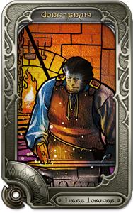 斬れない剣を鍛え上げた聖ムールギンをモチーフにしたリーヴ。人々を助けるために、己の技を活かすのは今だ