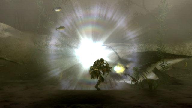 頭部の発光体から強烈な光を発する。まともに光を浴びると気絶状態になる