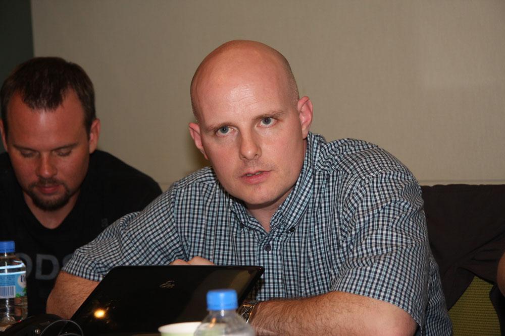 米Microsoft「Halo」のフランチャイズチームフランチャイズ開発ディレクターのフランク・オコーナー氏