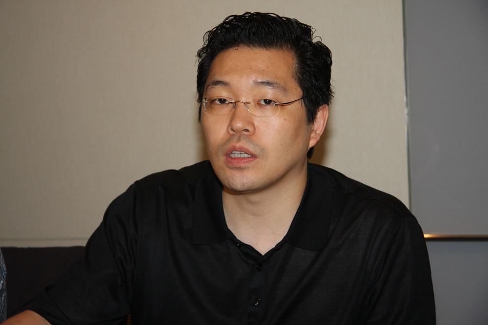 本作のプロデューサーを務めるJ-Spec Pictures代表取締役のジョセフ・チョウ氏