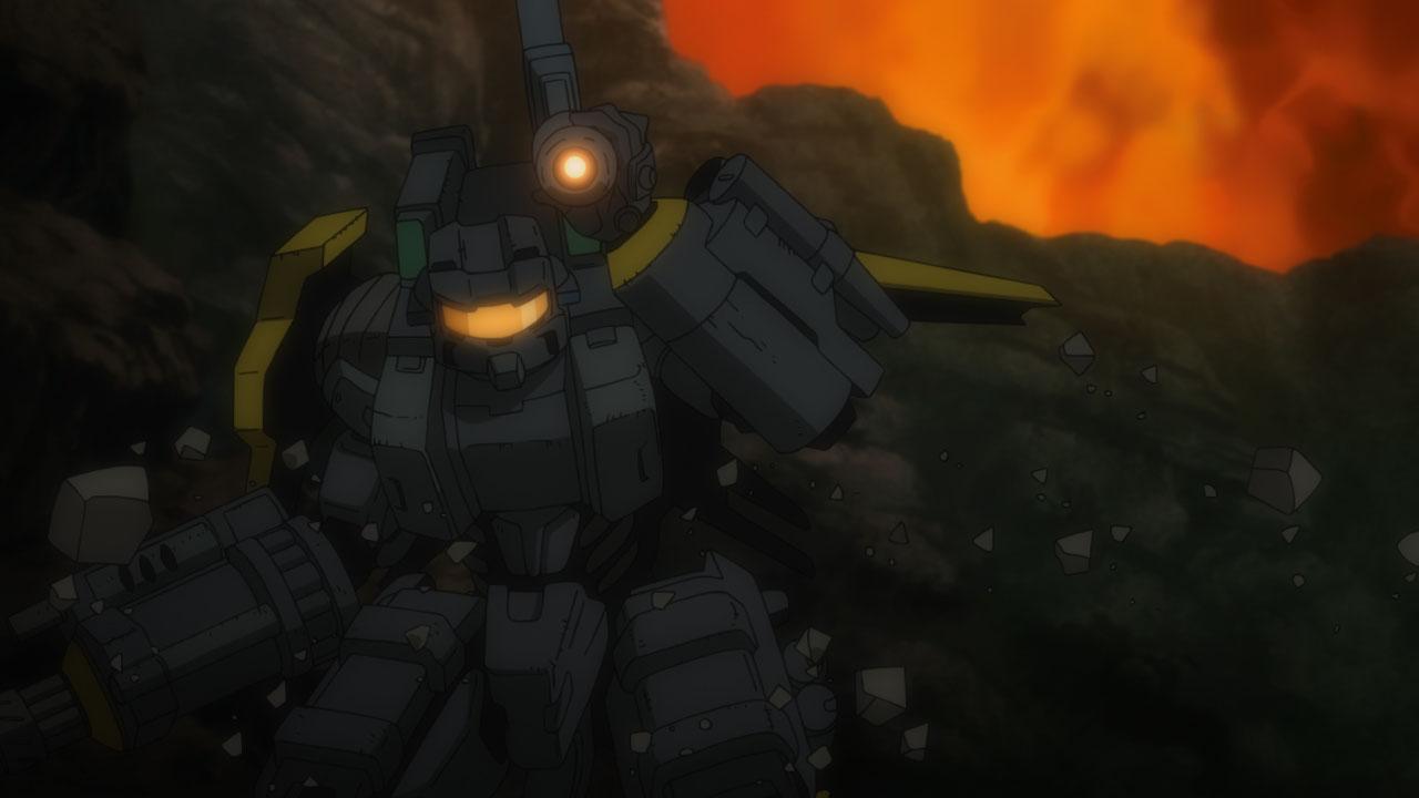 ボンズの「Prototype」。ロボットのような重装備のパワードスーツが登場するようだ