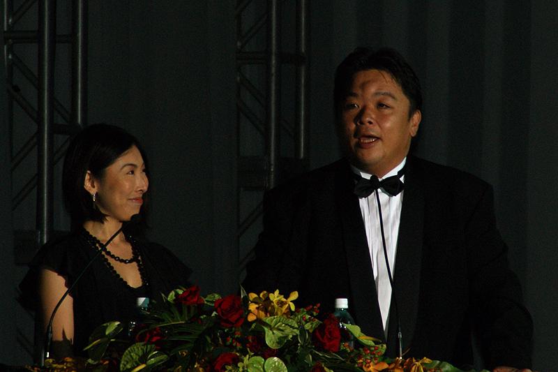 司会はおなじみ伊集院光さんと前田美咲さん。