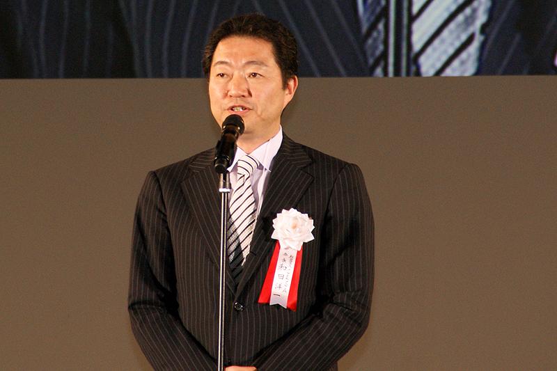今回の大賞では、CESA会長和田陽一氏が挨拶を行なった
