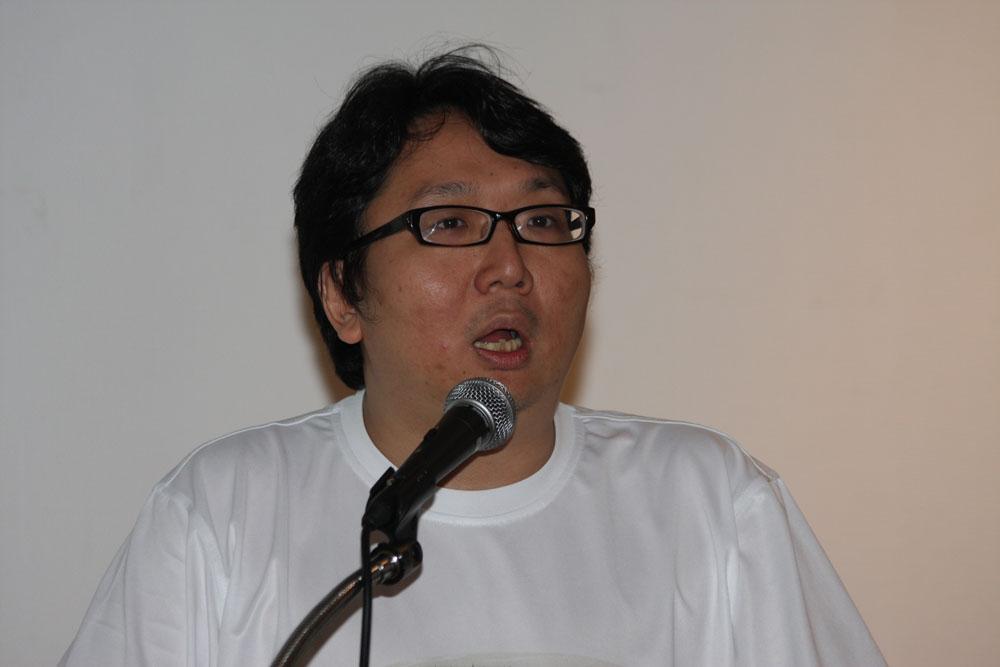 XPECの総経理を務める許金竜氏。2009年に台湾遊技産業振興会会長に就任した