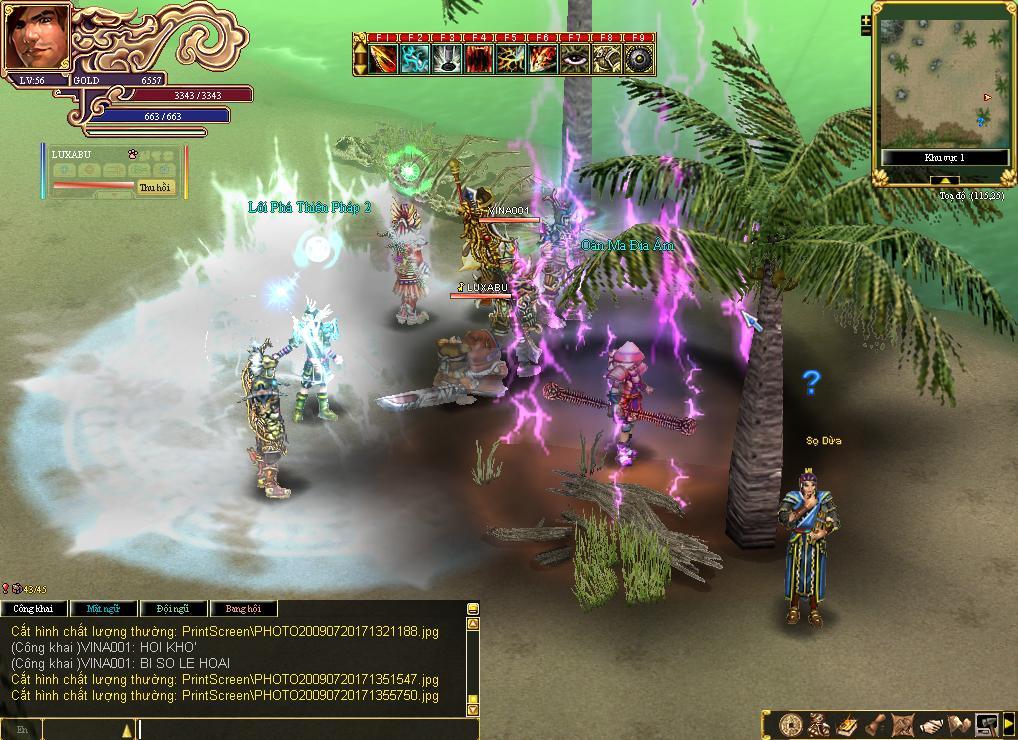 Zealot Digital International開発の「大越伝奇」。ベトナムの伝説・神話を題材にしたユニークな作品である。ベトナムス人タッフが多数在籍するZealotならではの作品だという。オンラインゲーム市場が急速に発展しているというベトナムでの反応も楽しみだ