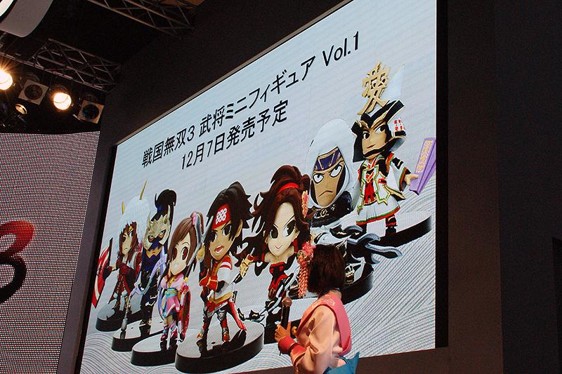 12月7日に発売予定の「戦国無双3 ミニフィギュア vol.1」