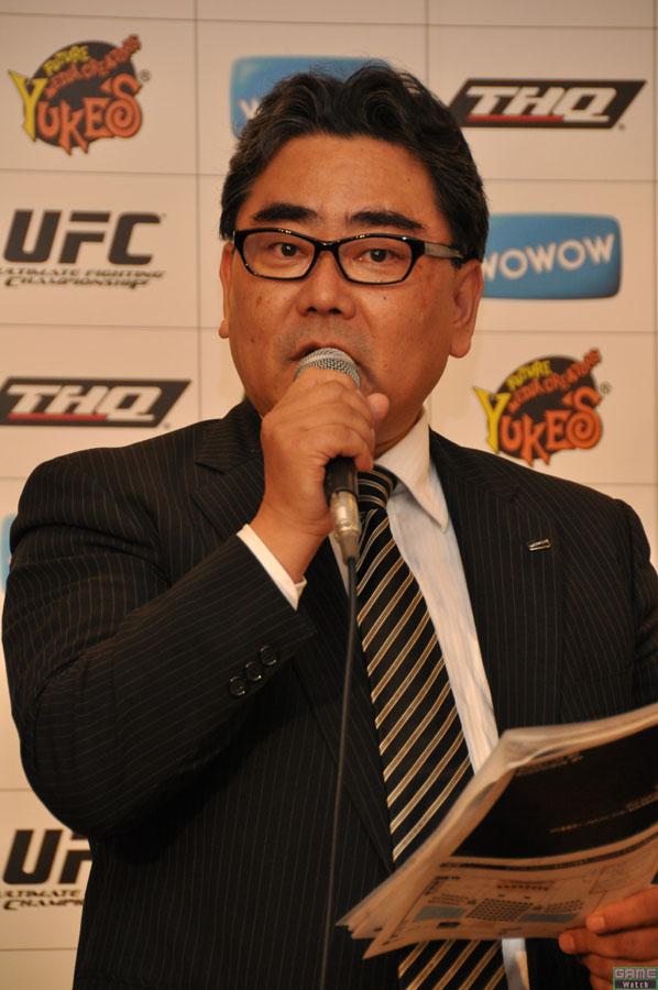 WOWOWスポーツ制作部部長の崎山修氏