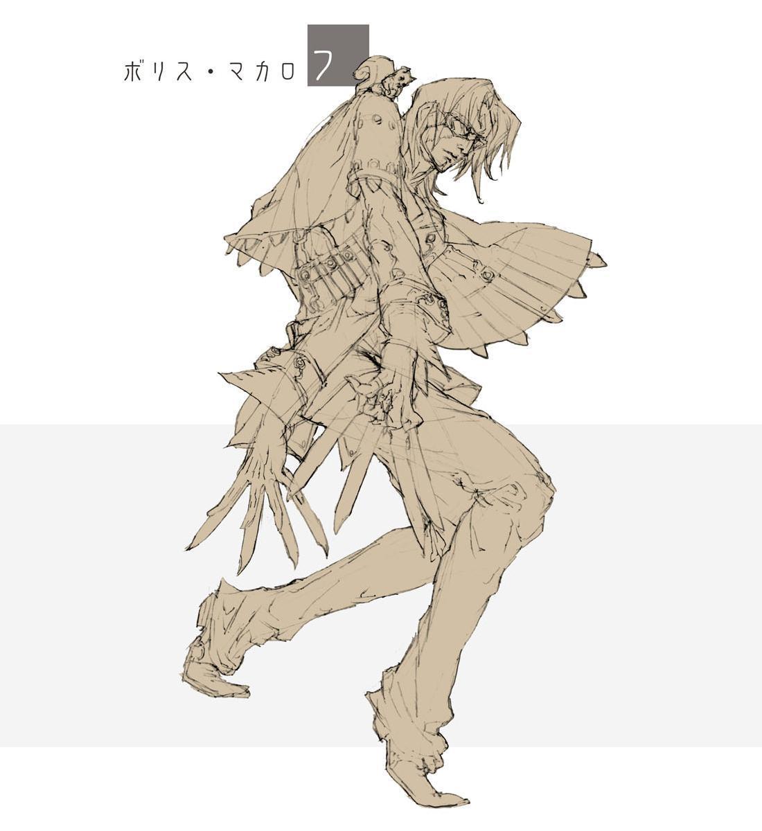 新キャラクターのコンセプトアート。従来のリアル系のキャラクターから一転して、フィクション色の濃いアニメ的なキャラクターに転換するようだ