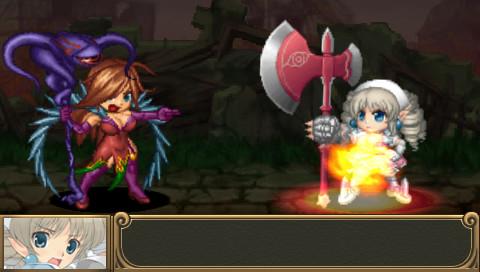 """ニクスが攻撃を与え得意になっていると、不思議な杖「""""禁忌の秘宝""""フニクラ」に容赦なく罰を与えられる。ニクスがフニクラに締め上げられながらも、更にフニクラによる攻撃が対戦相手を襲い続ける"""