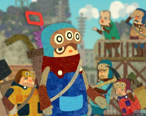 大切な町に戦艦がやってくると言うことでオロオロする町人達。ティトリは町を守るために立ち上がる