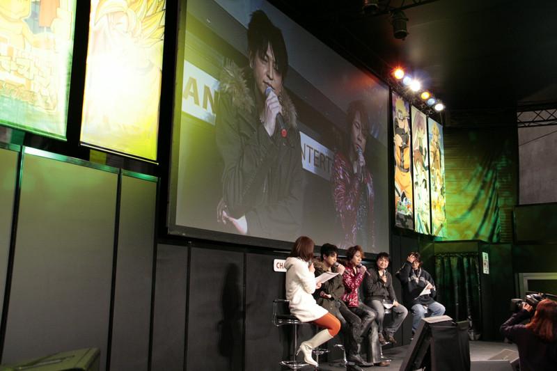 緑川さんと置鮎さんをゲストに、歴代キャラの人気投票結果を発表。「サモンナイト2」のキャラクターの人気が高かった