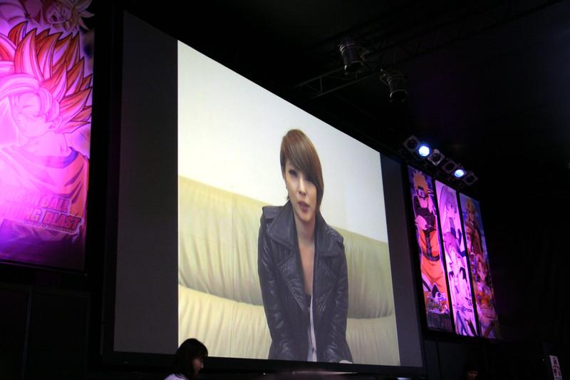 「TOG」のテーマソング「まもりたい~White Wish~ 」を手がけたBoAさんからもビデオメッセージが届けられた