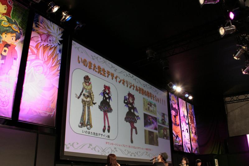 PS3「TOV」、Wii「TOG」ともにダウンロードコンテンツの紹介が行なわれた