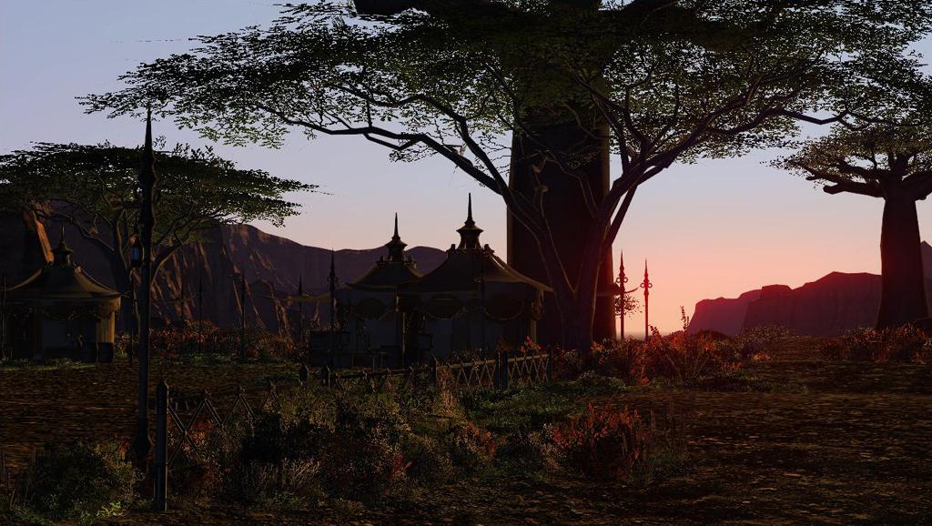 美しいエオルゼアの風景。βテストが楽しみだ