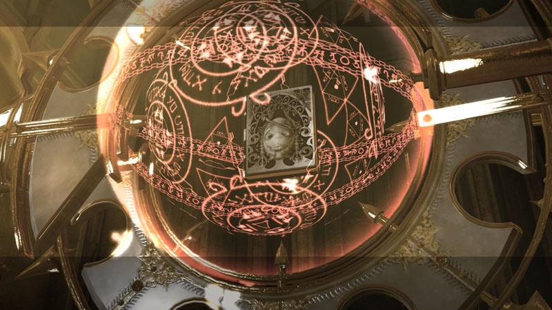 古い神殿に、何者かに守られるように封印されていた「白の書」。なぜ封印されていたのか、誰が封印したのかは謎に包まれている