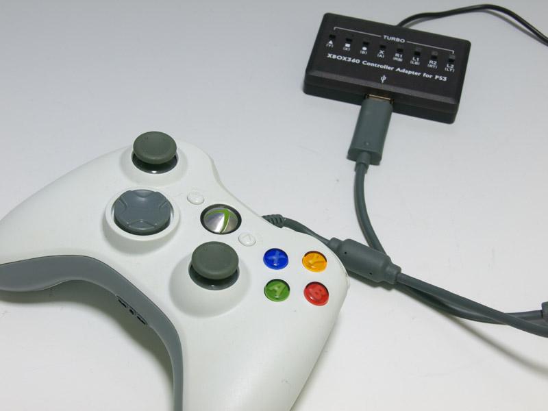 「XCM Cross Battle Adapter Plus」を試した際は使用できるコントローラーは純正のXbox360有線コントローラーのみという結果になったが、今回新たに「ホリパッドEX2ターボ」も試してみたところ使用することができた