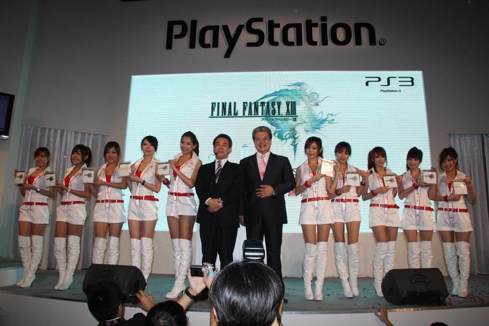 SCE Asiaプレジデントの安田哲彦氏は8年の交渉が実ったということで、「台湾の『FF』ファンの皆さん、待ちに待った日が来ました。おめでとう」と来場者と共に喜びをあらわにし、満面の笑みで歓声に応えていた