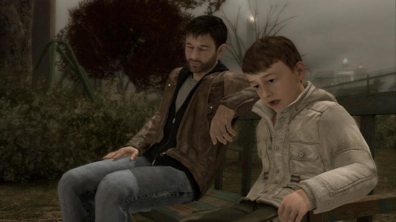 父親のイーサンと息子のショーン。長男のジェイソンを事故で失った痛みは今もはっきりと残っている