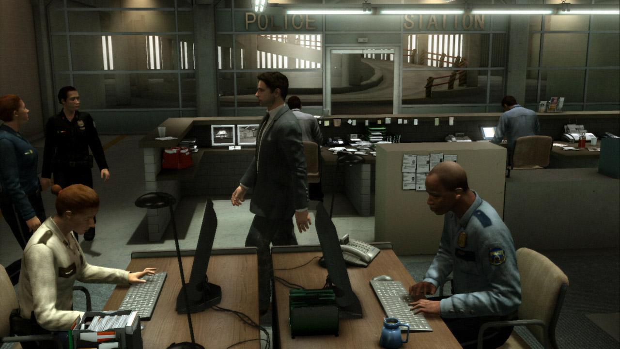 4人のプレーヤーキャラクターがチャプターごとに切り替わる。行動するシーンもそれぞれにガラリと変わる