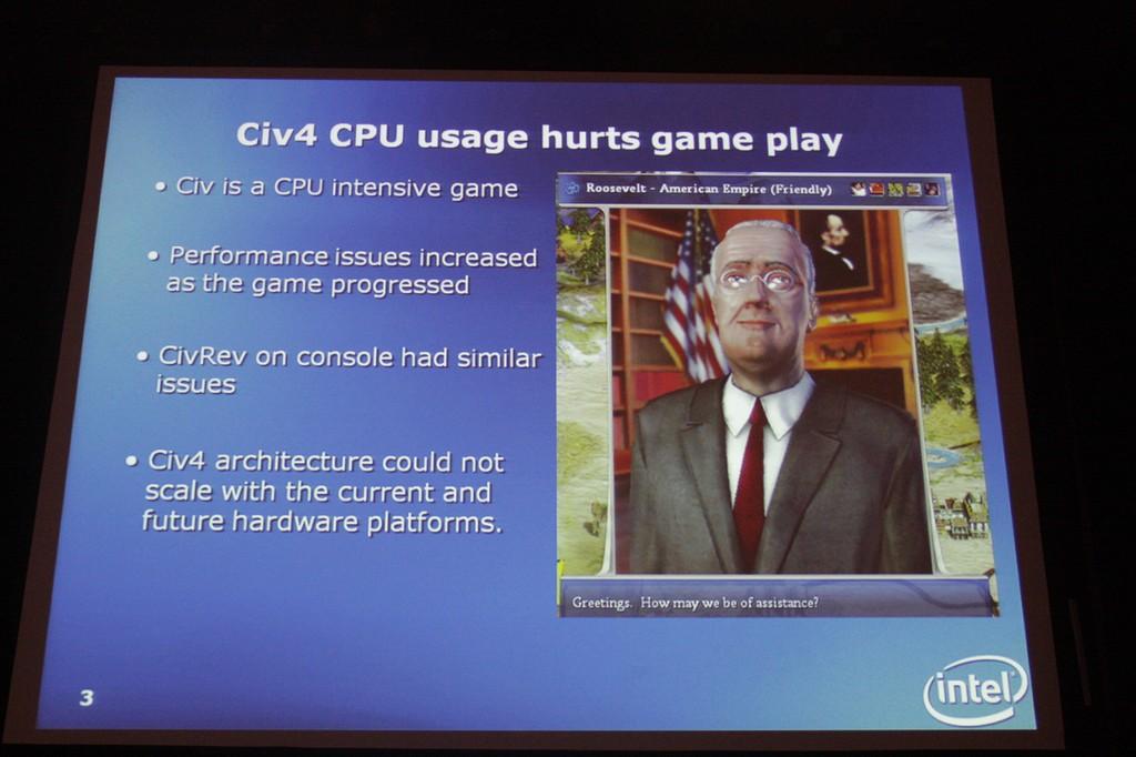 「Civ IV」エンジンの問題点は「CPUを使いすぎること」