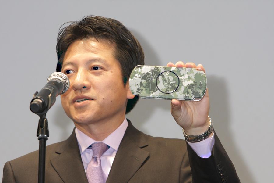 ソニー・コンピュータエンタテインメントのプレジデント、河野弘氏。「社内でも盛り上がっている」とし、最大限に応援していくとした