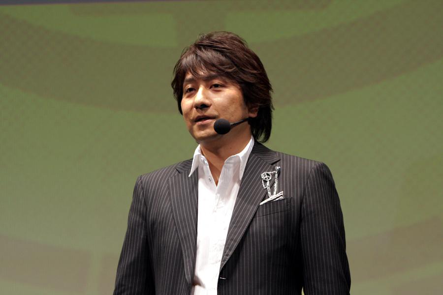 小島プロダクションの統括プロデューサー、今泉健一郎氏