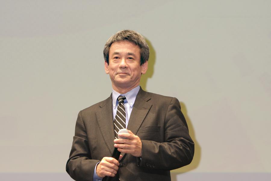 スクウェア・エニックスの専務執行役員、「ファイナルファンタジー ヴェルサス XIII」プロデューサーの橋本真司氏
