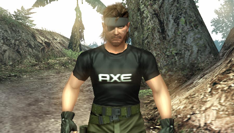 ユニリーバの「AXE」もゲーム内アイテムとして登場。気力を回復