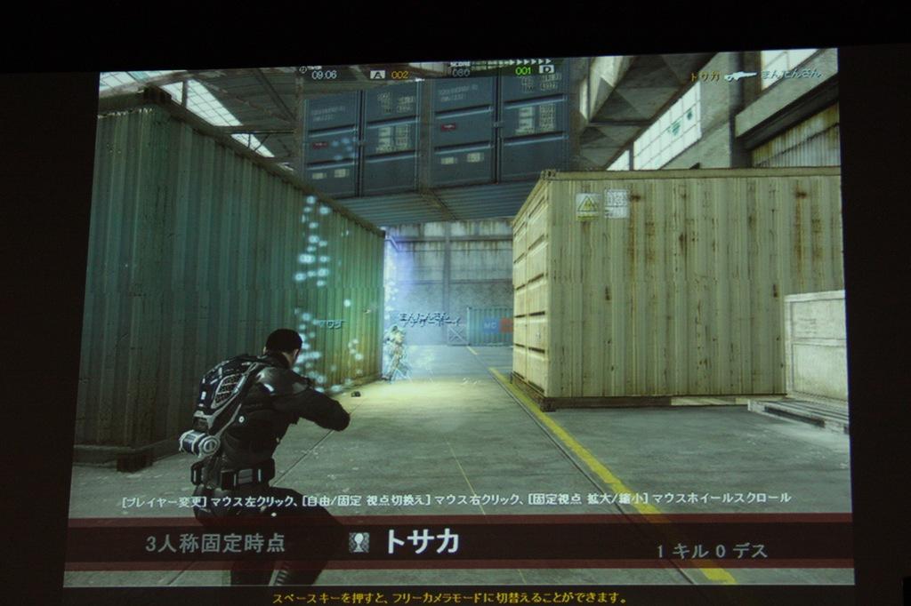 キャラクターカスタマイズの項目が豊富。ブースターを装備すれば「インパクトブースター」が利用できるなど、アクション内容に与える影響も多い。装備の状況はインゲームのグラフィックスでひと目でわかるようになっている
