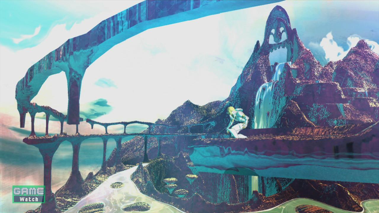 「エルシャダイ」で描かれる世界は常に変化し続けているのだという。また、立体的なレベルデザインで3D空間を余すことなく表現している