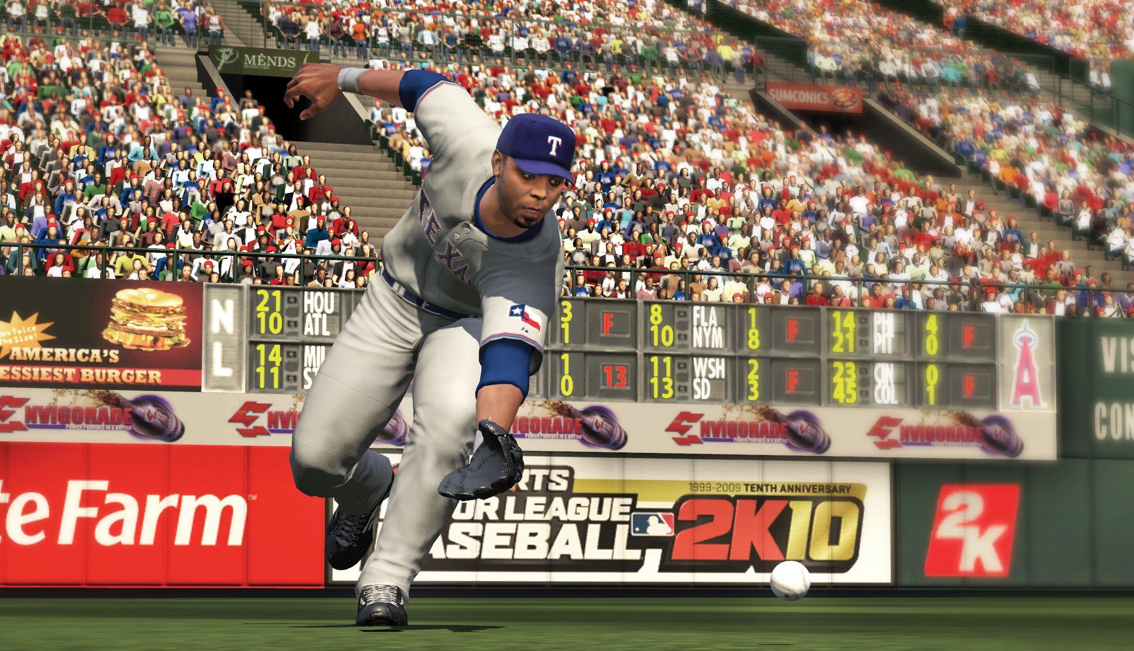 球団はマイナーリーグからメジャーリーグまで幅広くカバー。野球ファンにはたまらないゲームだ