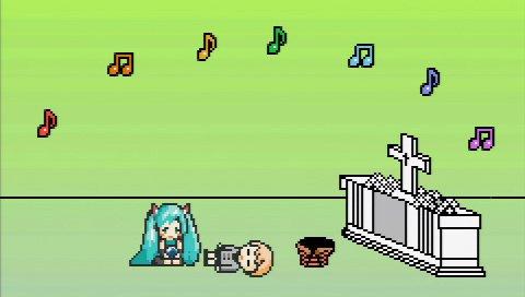 ゲーム版で追加された動画とは違うオリジナルエンディング。この後、マスターとミクがどうなるのかは、自分の目で確かめて欲しい