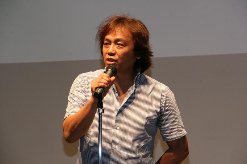 「テイルズ オブ」シリーズで愛・夢・勇気を提供していきたいと語る中谷 始取締役