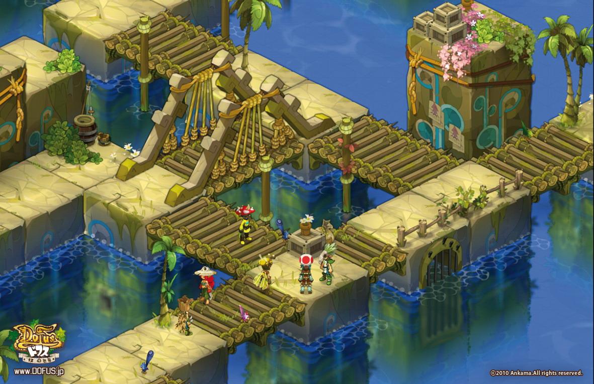 強大な力を手に入れることができるという「竜の卵=ドフス」を巡る物語が描かれる。戦略性の高いオンラインゲームに仕上がっている