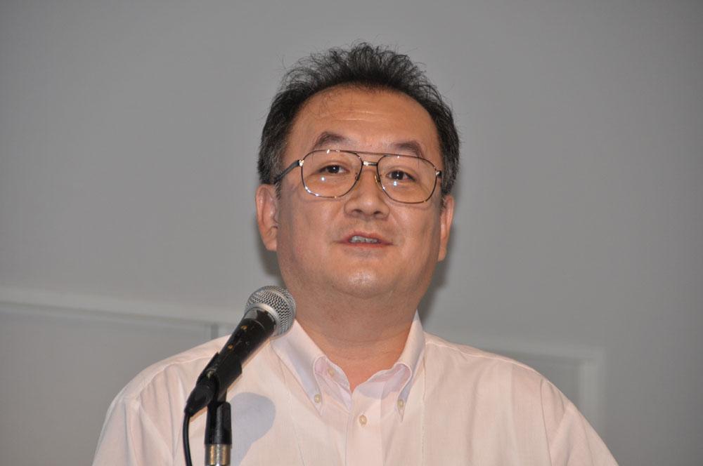 モバイル&ゲームスタジオ取締役会長の遠藤雅伸氏