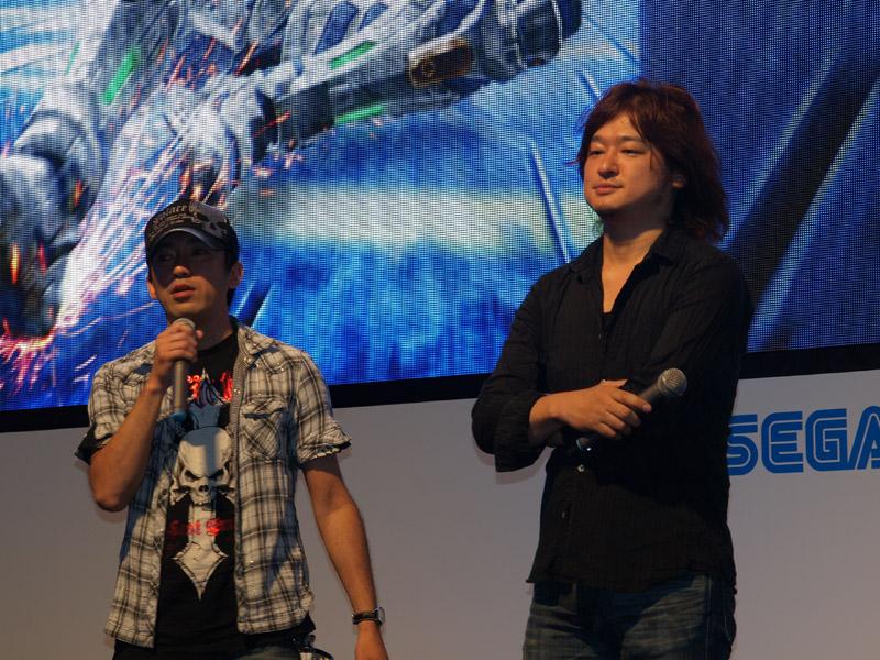 左がディレクターの三上真司氏、右がプロデューサーの稲葉敦志氏