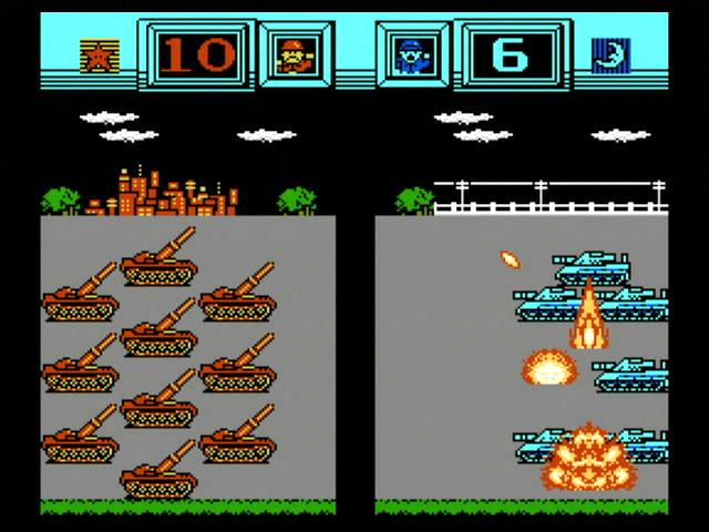 戦闘は、射程1の部隊が隣接した相手を攻撃する直接攻撃と、射程2以上の部隊が離れた相手を攻撃する間接攻撃がある。数をゼロにするとその部隊を消滅させられる