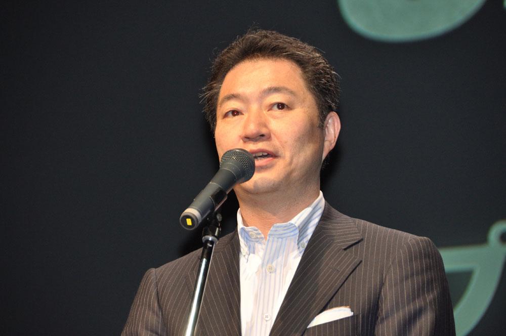 スクウェア・エニックス代表取締役社長の和田洋一氏