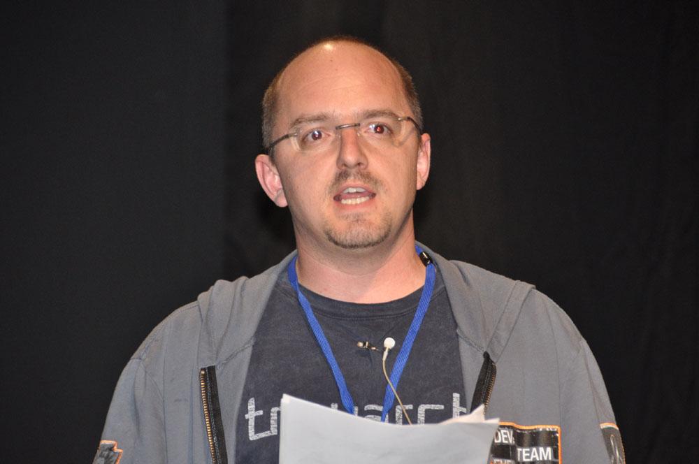 開発元の米TreyarchマルチプレイデザインディレクターのDavid Vonderhaar氏