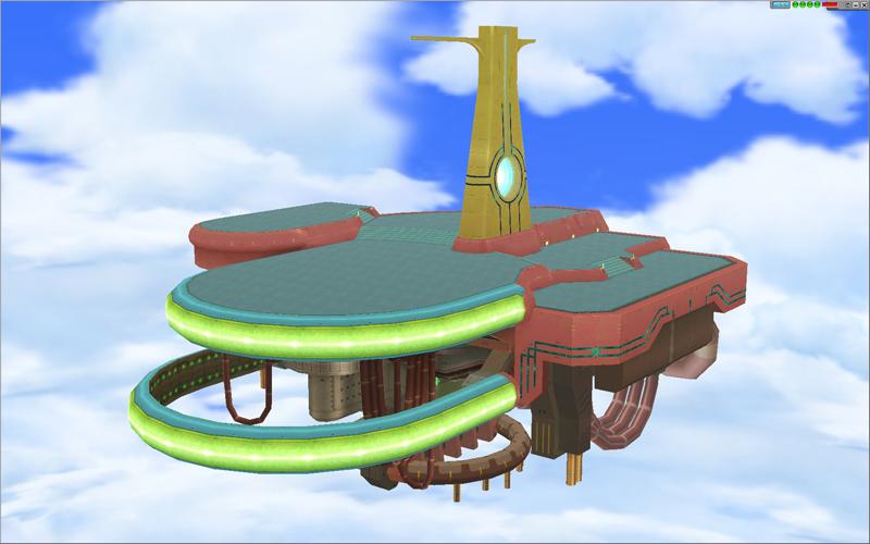 以前から発表され期待されていた、新しいリング(ECOのギルド)の遊び場として「飛行城」がついに実装される