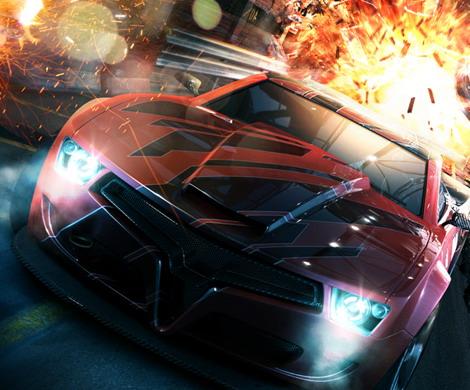 PS3で発売された「SPLIT SECOND -スプリットセカンド-」はアーケードタイプのレースゲームとして、ど派手な演出で注目を集めた。PSP版ではやりこみ要素の充実が図られ、アドホックモードで最大4人まで参加してのマルチプレイが可能となった